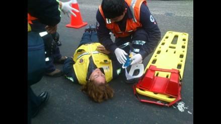 Combi atropella a inspectora municipal de transporte en Puente Nuevo