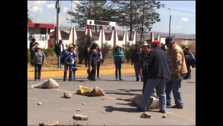 Chanchamayo: Carretera Central continúa bloqueada por pobladores