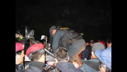 Cajamarca: hermanos mueren en despiste y vuelco de camioneta