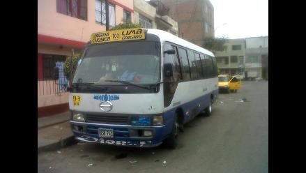 Seis heridos deja accidente en Chaclacayo provocado por bus del Chosicano