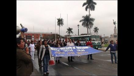 Trujillo: millonaria partida para honrar deuda a trabajadores de Salud