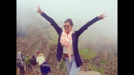 Milett Figueroa publica fotos de su viaje a Cusco