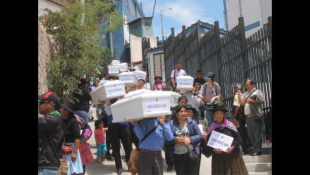 Ayacucho: entregan 41 restos de pobladores asesinados en 1983