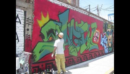 Chiclayo: más murales urbanos para contrarrestar propaganda electoral