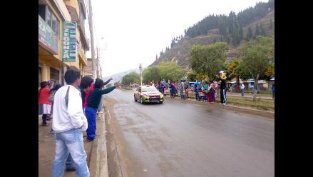 Andahuaylino lidera la competencia automovilística ´Caminos del Inca´