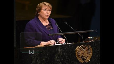 Bachelet habla en la ONU de crear ´una nueva Constitución´ para Chile