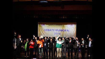 Cuatro candidatos de Lima participarán en debate con comerciantes