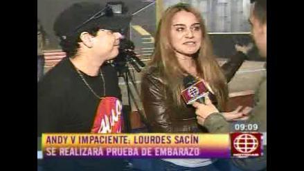 ¿Lourdes Sacín está embarazada de Andy V?