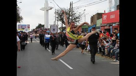 Trujillo: Festival de la Primavera cierra con colorido corso