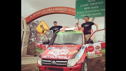 Nicolás Fuchs llegó a Huancayo para la última etapa de Caminos del Inca