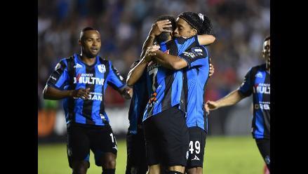 Querétaro de Ronaldinho igualó 1-1 ante el Toluca en la Liga mexicana