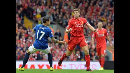 Liverpool igualó 1-1 frente al Everton con un gol en el último minuto