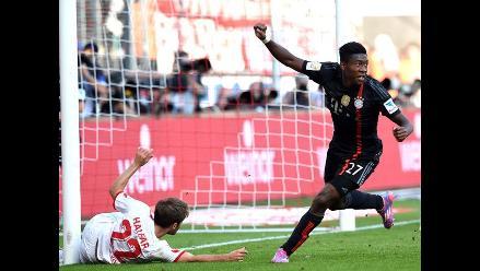 Bayern Munich sin Claudio Pizarro venció 2-0 al Colonia por la Bundesliga