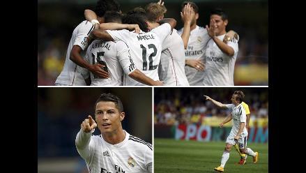 Así venció Real Madrid a Villareal con goles de Cristiano Ronaldo y Modric