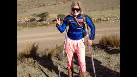 Alejandra Baigorria viajó a Huancayo a pesar de lesiones