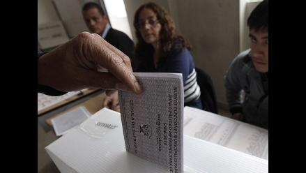 CPI: Candidatos con mayor intención de voto en 6 distritos de Lima