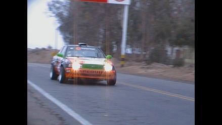 Piloto Manuel Antezana sufre aparatoso accidente en Caminos del Inca