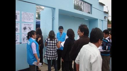 San Martín: docentes rinden prueba de ascenso a la escala magisterial