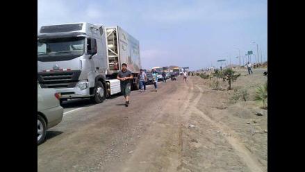 Cañete: cientos de vehículos varados por Caminos del Inca