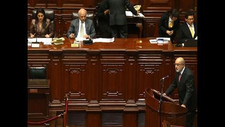 Pleno debatirá el martes moción de censura contra ministro Mayorga