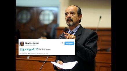 Mauricio Mulder es insultado y pierde los papeles en Twitter