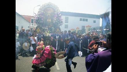 Trujillo: Señor de los Milagros saldrá en su primer recorrido