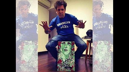 Andrés Calamaro destaca creación del cajón peruano