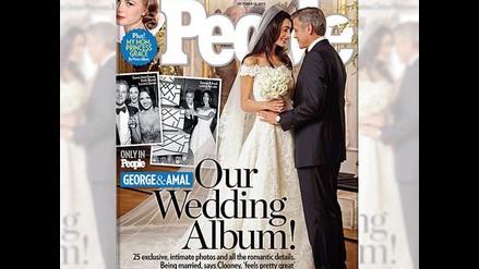 Matrimonio de Clooney acapara portadas en todo el mundo