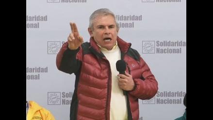 Castañeda afirma que no investigará gestión de Villarán si es que gana