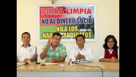 Piura: candidatos se deslindan del narcotráfico