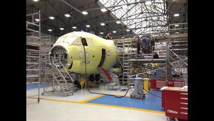 Ensamblaje de aviones de transporte adquiridos en Italia está avanzado