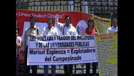 Piura: trabajadores del Sutep inician huelga de hambre
