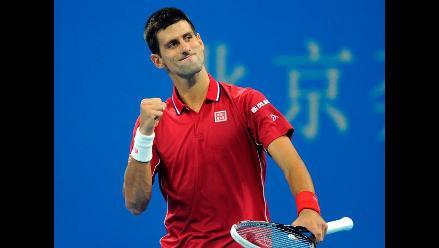 Novak Djokovic accedió a los cuartos de final del ATP de Pekín