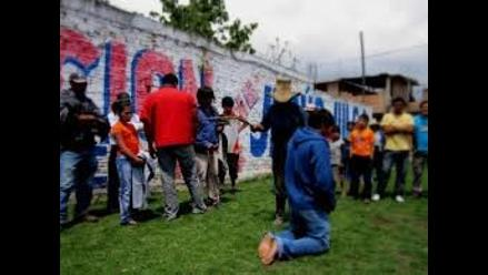 Cajamarca: docentes denuncian a ronderos por castigarlos salvajemente
