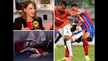 Pasó hoy: Luciana León es denunciada por compra de departamentos, Espeleólogo español será dado de alta en las próximas horas y César Vallejo perdió ante Bahía en la Copa Sudamericana