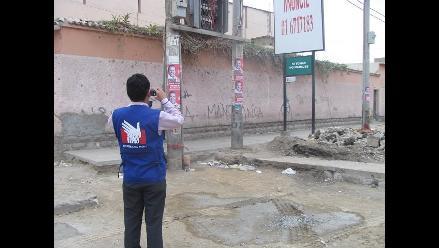 Arequipa: retiran propaganda electoral colocada cerca de locales de votación