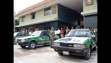 Amazonas: entregan vehículos de instrucción al Éjercito del Perú