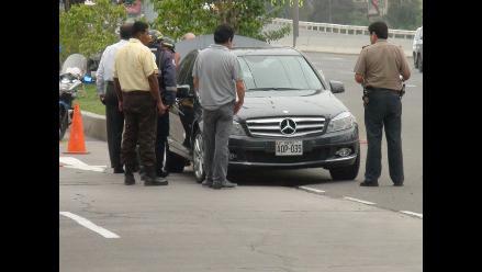 Cusco: incautan vehículo en el que secuestraron a menor en Quillabamba