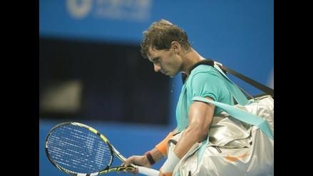 Rafael nadal pierde ante Martin Klizan en cuartos de final del China Open