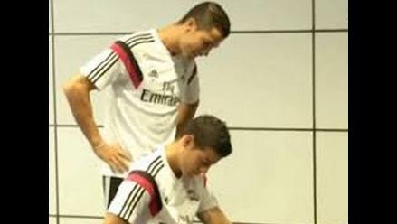 Cristiano Ronaldo: James Rodríguez es víctima de nueva broma de CR7
