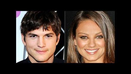 Ashton Kutcher y Mila Kunis publican foto de su bebé en Facebook