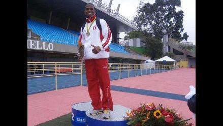 Peruano Andy Martínez se baña en oro en el Sudamericano de Atletismo Sub23