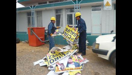 Chimbote: denuncian difusión de propaganda a pocas horas de elecciones