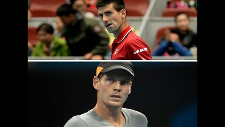 Novak Djokovic y Tomas Berdych disputarán título en Pekín