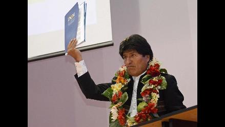 Morales pide a Chile que no falte a la verdad sobre demanda boliviana