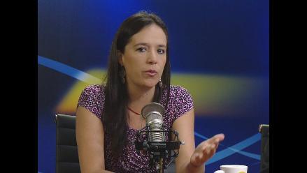Marisa Glave espera que ciudadanía fiscalice labor de Luis Castañeda
