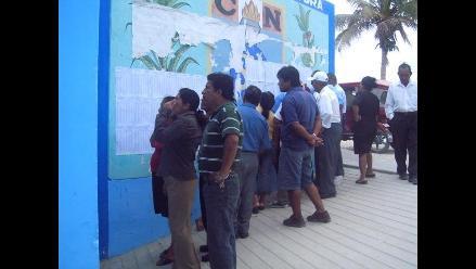 VMT: denuncian que electores tienen que pagar para emitir voto