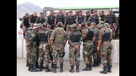 La Libertad: destacan 300 efectivos Dinoes a Tayabamba por elecciones