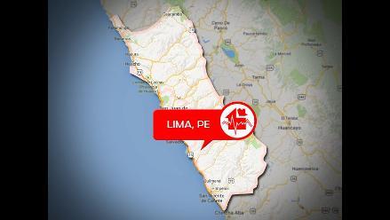 IGP: Sismo de 3.6 grados se registró en el Callao