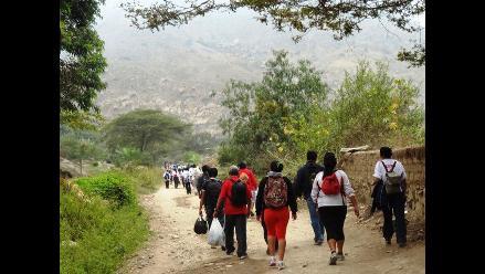 La Libertad: electores caminan 24 horas para ejercer su derecho al voto